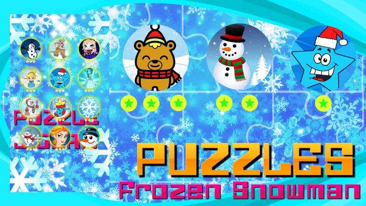 Frozen Snowman and Landscapes screenshot-4