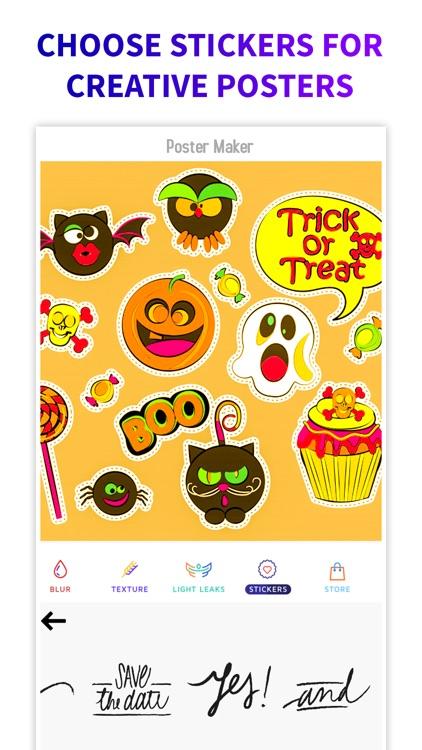 Poster Flyer Maker Icon Design screenshot-3