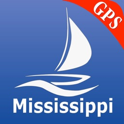 Mississippi GPS Nautical Chart