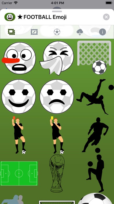 Football Emoji • Stickers screenshot 5