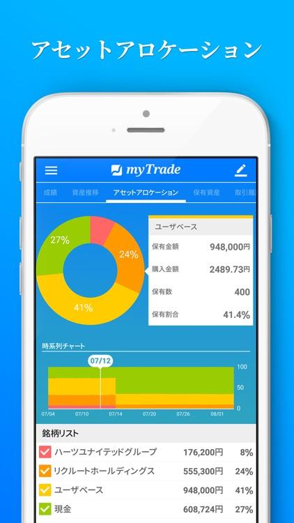投資管理マイトレード-株式投資を自動で記録分析 screenshot-3
