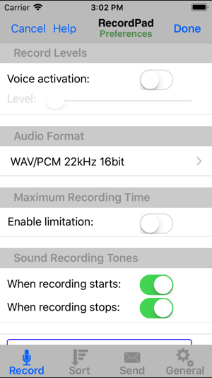 RecordPad Sound Recorder on the App Store