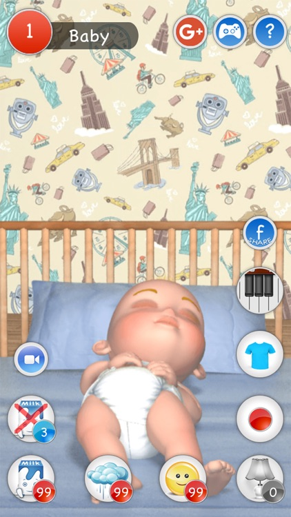 My Newborn Baby (Virtual Baby) screenshot-3