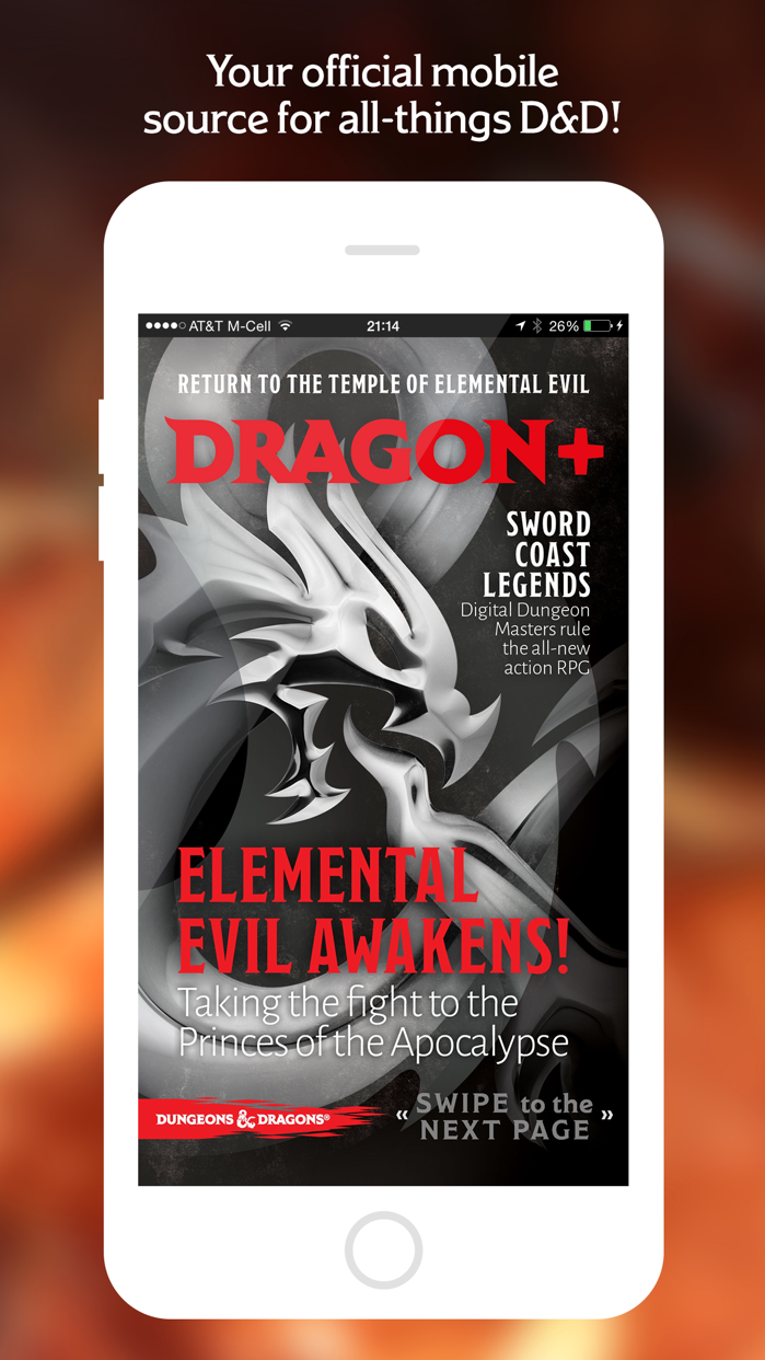 Dragon+ Magazine Screenshot