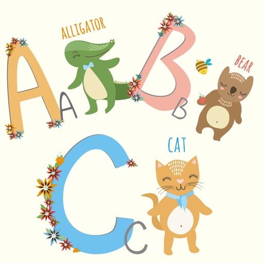 Animal Alphabet Stickers