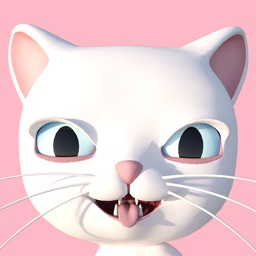 3D Animated Cat Emoji Stickers