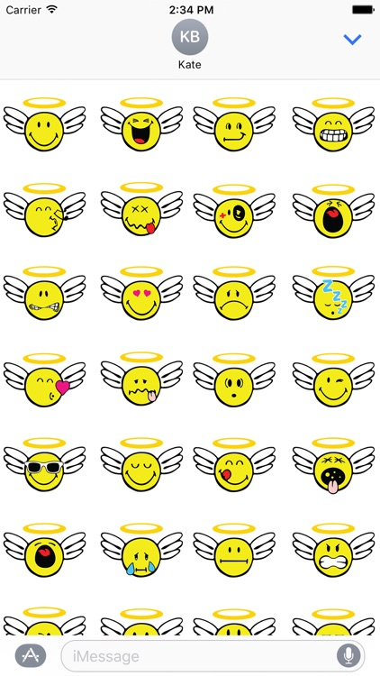 Smiley Angel Pack