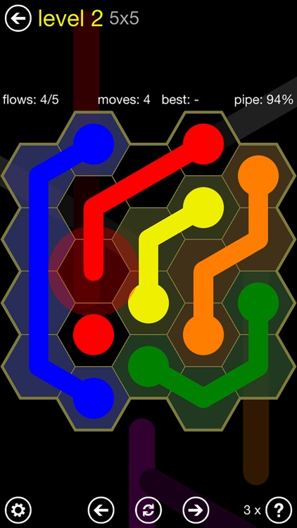 Flow Free: Hexes screenshot-0