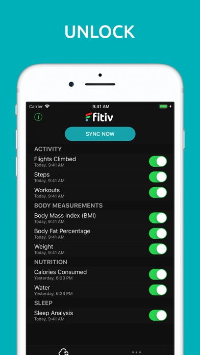 FITIV Sync for Fitbit Activity Screenshots
