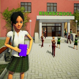 School Girl Simulator Game 3D
