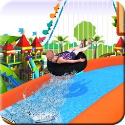 Water Slide Real Adventure 3D