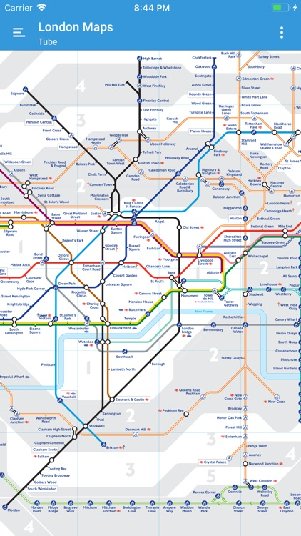 London Map Guide.London Tube Maps And Guides By Patrick Taylor