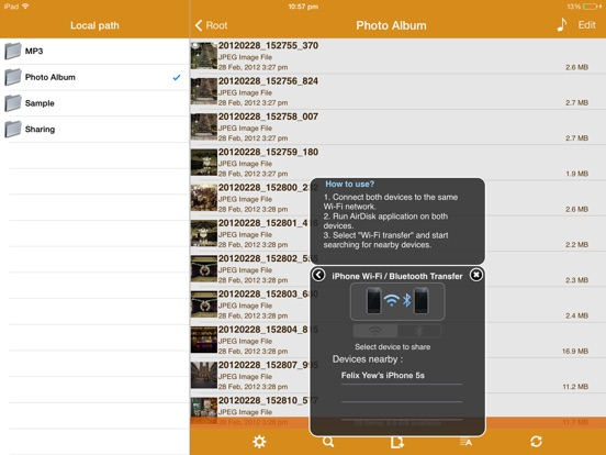 Screenshot #6 pour AirDisk Pro