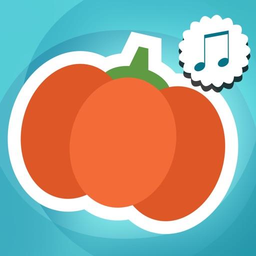 ABC Первые Слова Для Детей - Слушайте, Узнать, Говорить Со Словарем Овощей И Языка В Английском