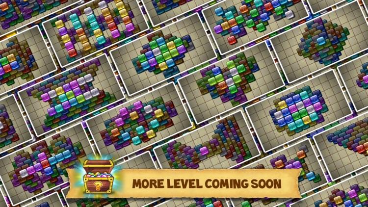 Rune Gems - Block n Tile Crush screenshot-4
