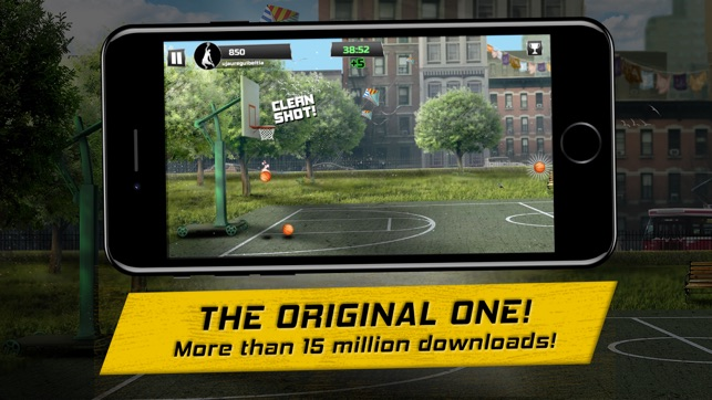 iBasket - Street Basketball Screenshot