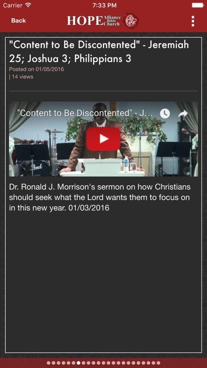 Hope Alliance Bible Church screenshot-3