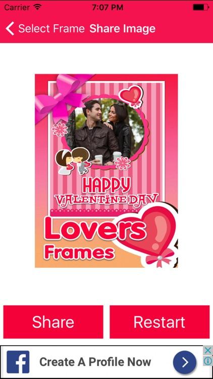 Valentine Day Photo Frame Creator screenshot-3