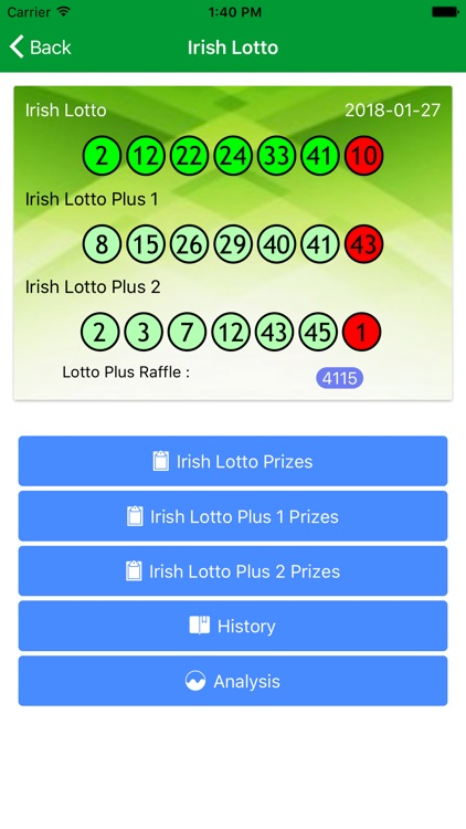 Irish National lotto checker by HSIN HAN WU