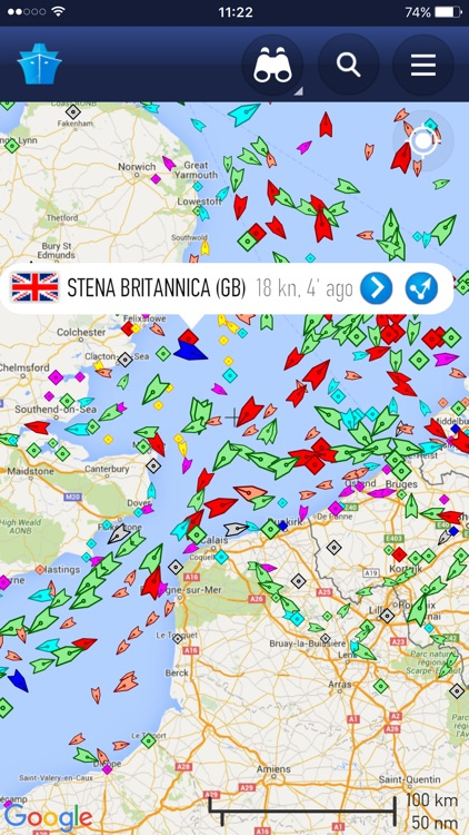 MarineTraffic - Ship Tracking screenshot-0