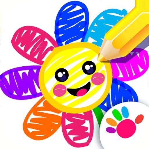 儿童画画游戏幼儿学习小宝宝教育2岁-5岁