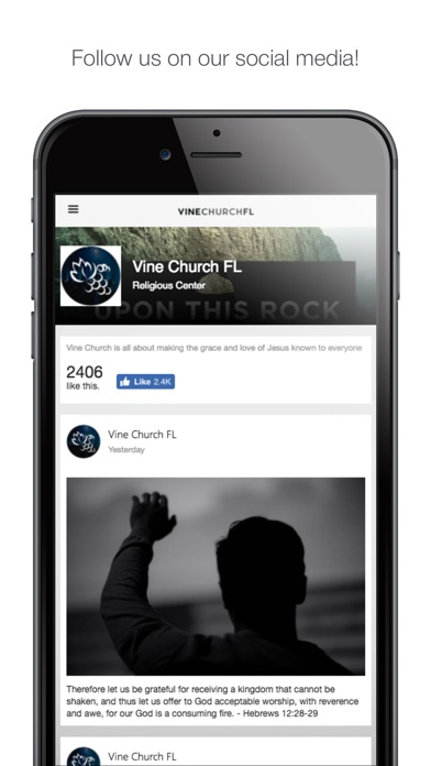 Screenshot #6 for Vine Church FL