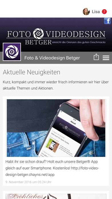 Foto & Videodesign BetgerScreenshot von 1