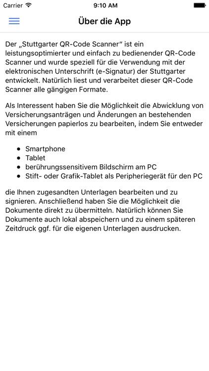 Stuttgarter Qr Code Scanner By Stuttgarter Versicherung