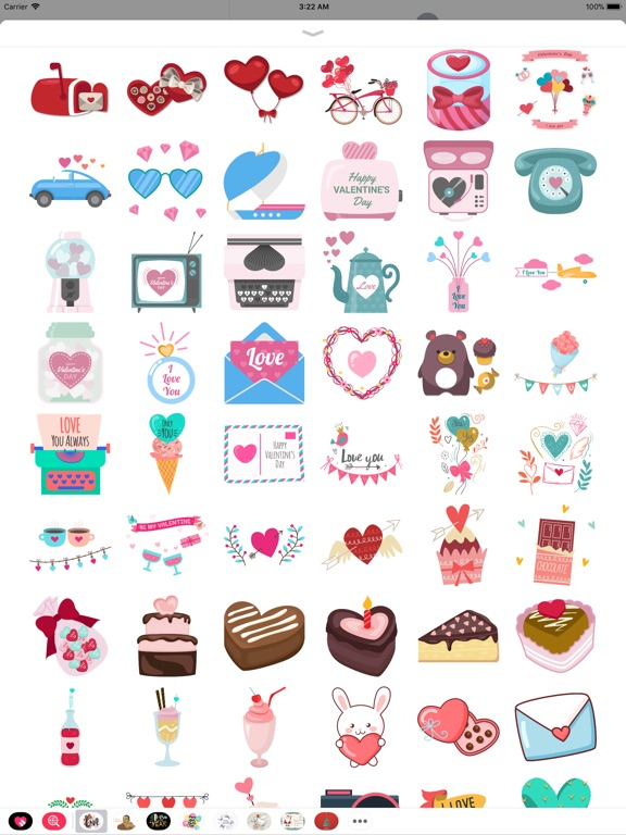 Happy Love Stickers - Animated screenshot 9