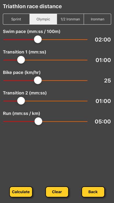 Triathlon Pace Calculatorのおすすめ画像2