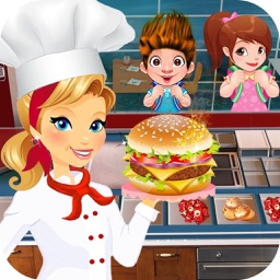 Cooking Burger Chef