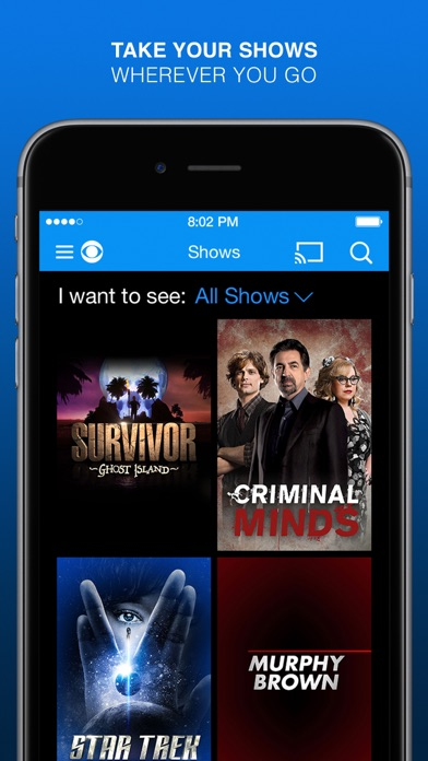 CBS - Full Episodes & Live TV for Windows