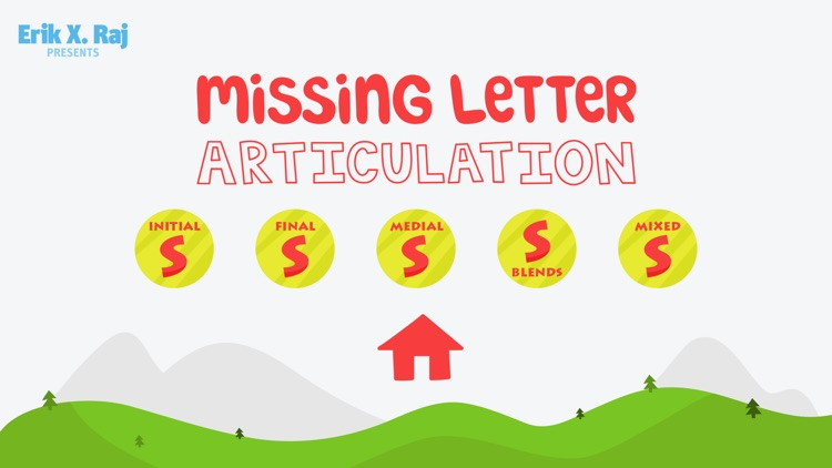 Missing Letter Articulation