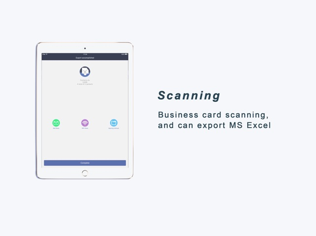 Samcard pro card scanner on the app store reheart Gallery