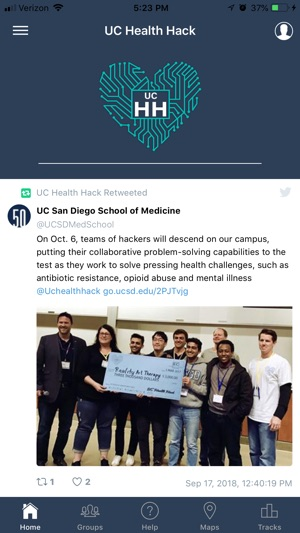UC Health Hack on the App Store