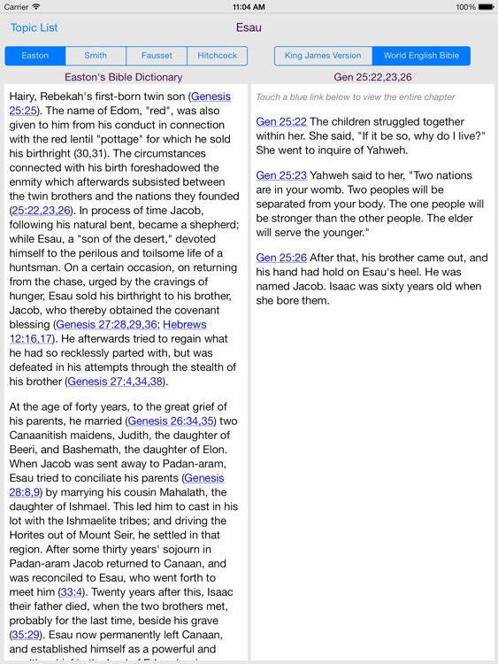 BibleDict for iPad screenshot-3