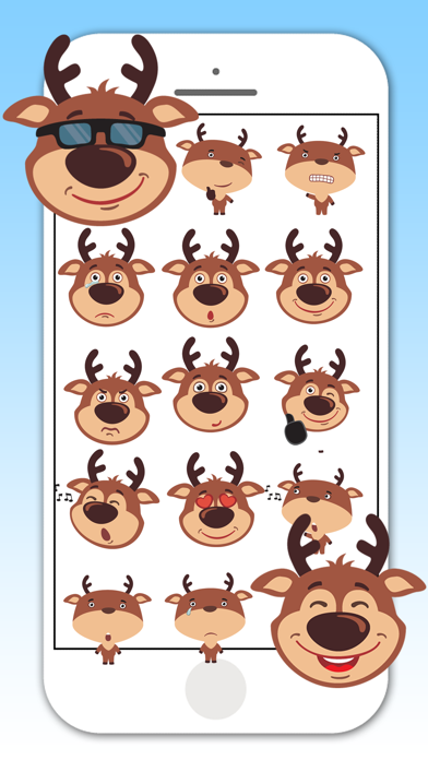 Deer Emojis & Stickers screenshot two