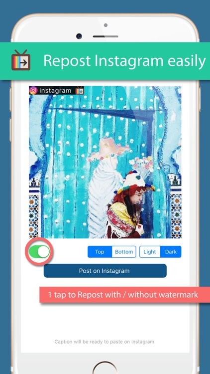 InsTV - autoplay and repost your favorite posts screenshot-1