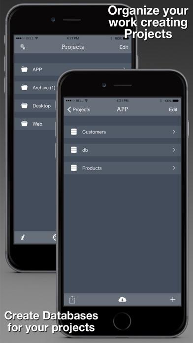 Sqled review screenshots