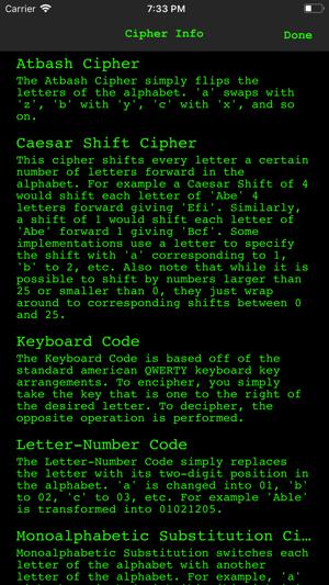cipher sender on the app store