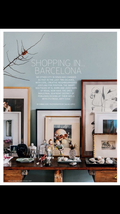 Condé Nast Traveller Magazine screenshot-2