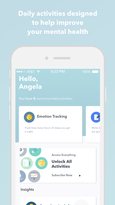 Therachat - journal & tracking