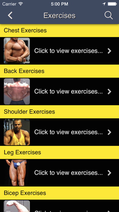 Total Fitness Bodybuilding Appのおすすめ画像3