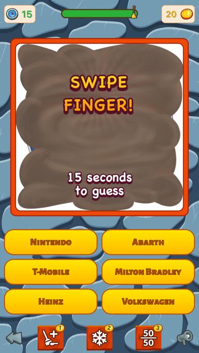 Dirty Logo Quiz screenshot one