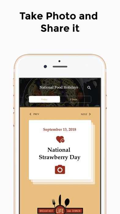 National Food HolidaysScreenshot of 5