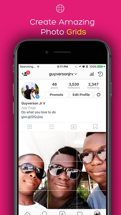 SplitPic - Split Pics in Grids For Social Posts