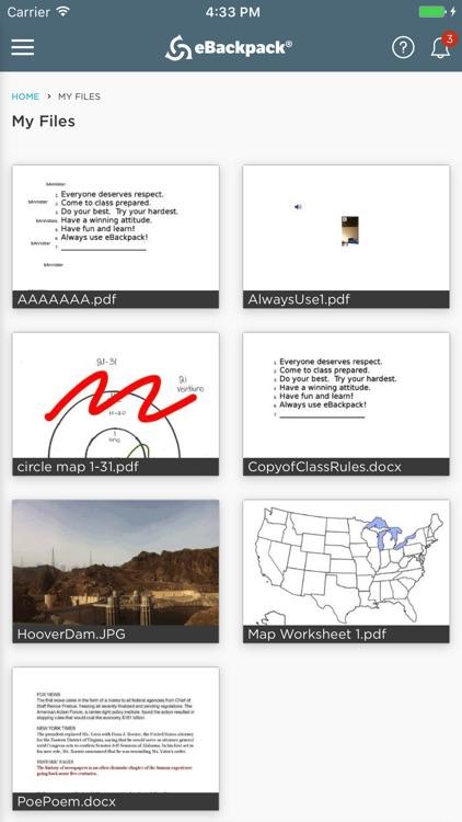 eBackpackLM screenshot-3