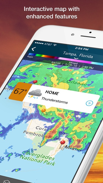 WeatherBug – Weather Forecast Screenshot