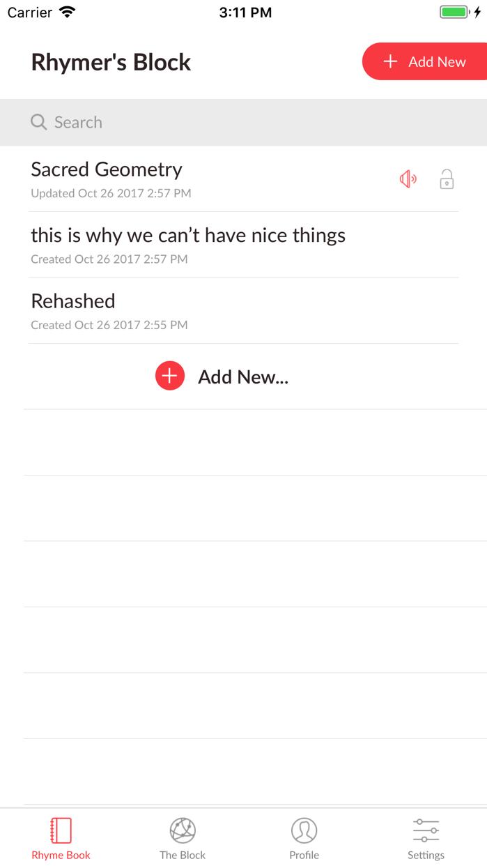 Rhymer's Block Screenshot