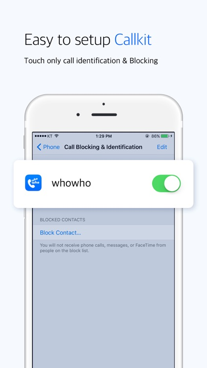 whowho - Spam block &  Convenient contact screenshot-4